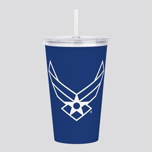 USAF Logo Outline Acrylic Double-wall Tumbler