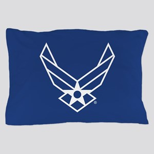 USAF Logo Outline Pillow Case