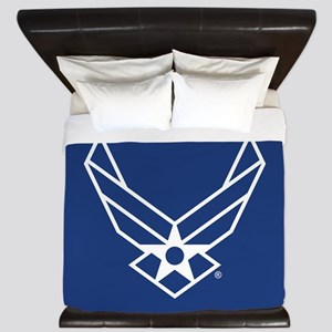 USAF Logo Outline King Duvet