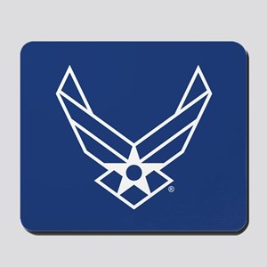 USAF Logo Outline Mousepad