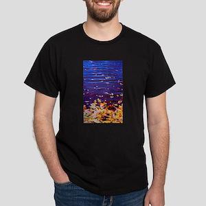 Leaves on Water Dark T-Shirt