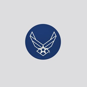 USAF Logo Outline Mini Button