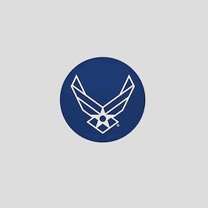 USAF Logo Outline Mini Button