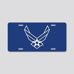 USAF Logo Outline Aluminum License Plate