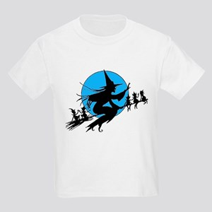 Flying Witch Kids Light T-Shirt