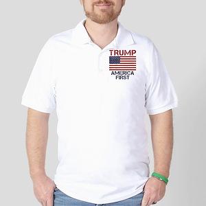 Trump America First Golf Shirt