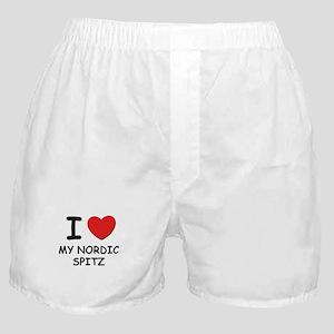 I love MY NORDIC SPITZ Boxer Shorts