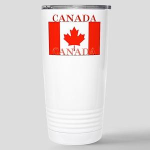 Canada Canadian Flag Stainless Steel Travel Mug