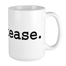 cocktease. Large Mug