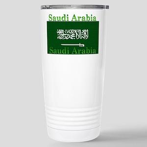 Saudi Arabia Arabian Flag Stainless Steel Travel M
