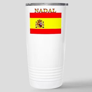 Nadal Spain Spanish Flag Stainless Steel Travel Mu