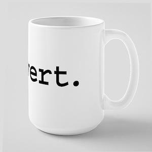 pervert. Large Mug