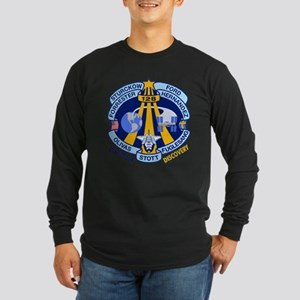 Discovery STS 128 Long Sleeve Dark T-Shirt