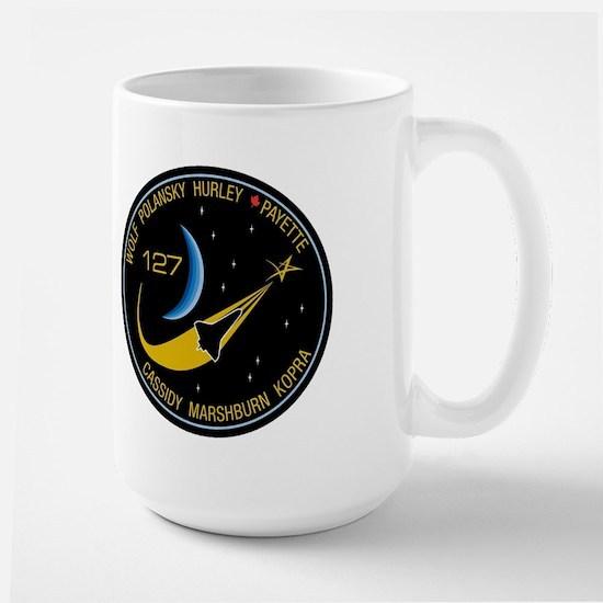 STS 127 Endeavour Large Mug