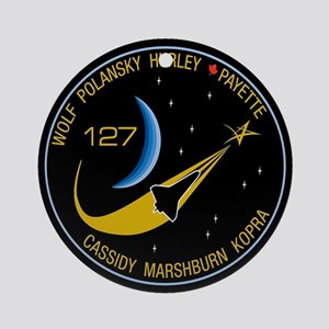 STS 127 Endeavour Ornament (Round)