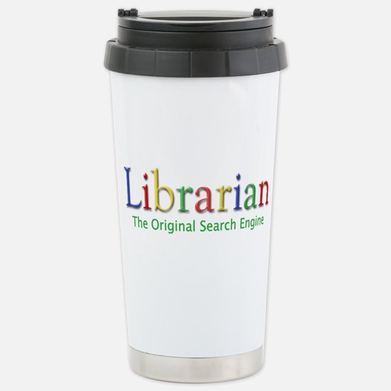 Librarian Stainless Steel Travel Mug