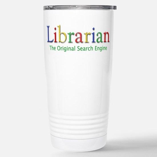 Librarian Stainless Steel Travel Mug
