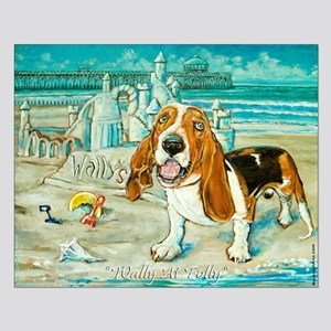 Basset Hound Small Poster