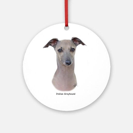 Italian Greyhound 9K75D-11 Ornament (Round)