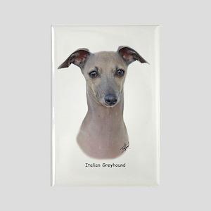 Italian Greyhound 9K75D-11 Rectangle Magnet