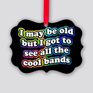All The Cool Bands Picture Ornament