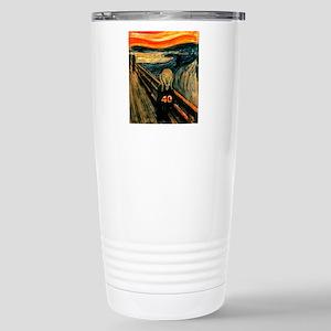 Scream 40th Stainless Steel Travel Mug