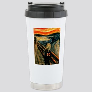 Scream 60th Stainless Steel Travel Mug