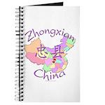 Zhongxian China Map Journal