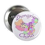 Zhongxian China Map 2.25