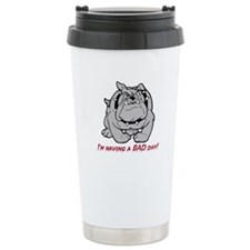 bulldog gifts, Bull Dog, Stainless Steel Travel Mu