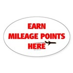 *NEW DESIGN* Earn Points HERE! Oval Sticker