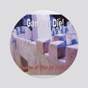 The Games of War 59 Ornament (Round)