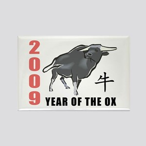 2009 Year of The Ox Rectangle Magnet