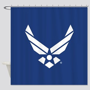 U.S. Air Force Logo Shower Curtain