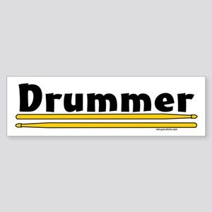 Drummer Sticker (Bumper)