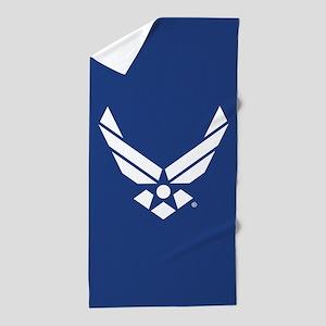U.S. Air Force Logo Beach Towel