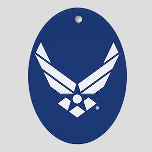 U.S. Air Force Logo Oval Ornament
