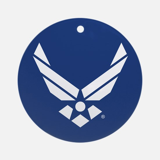 U.S. Air Force Logo Round Ornament