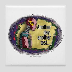 Crash Test... Tile Coaster