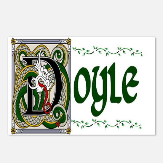 Doyle Celtic Dragon Postcards (Package of 8)