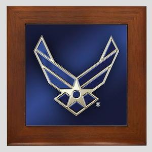 U.S. Air Force Logo Detailed Framed Tile