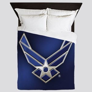 U.S. Air Force Logo Detailed Queen Duvet