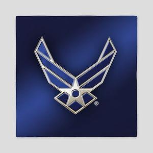 U.S. Air Force Logo Detailed Queen Duvet