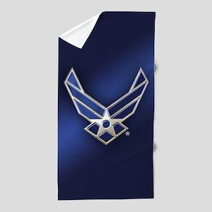 U.S. Air Force Logo Detailed Beach Towel