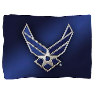 U.S. Air Force Logo Detailed Pillow Sham