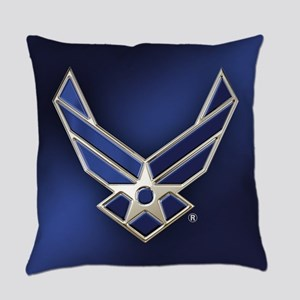 U.S. Air Force Logo Detailed Everyday Pillow
