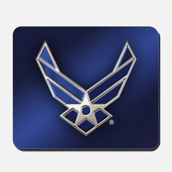 U.S. Air Force Logo Detailed Mousepad