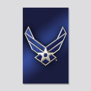 U.S. Air Force Logo Detailed 20x12 Wall Decal