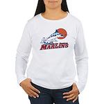 Marlins Women's Long Sleeve T-Shirt