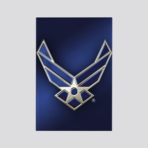 U.S. Air Force Logo Detailed Rectangle Magnet